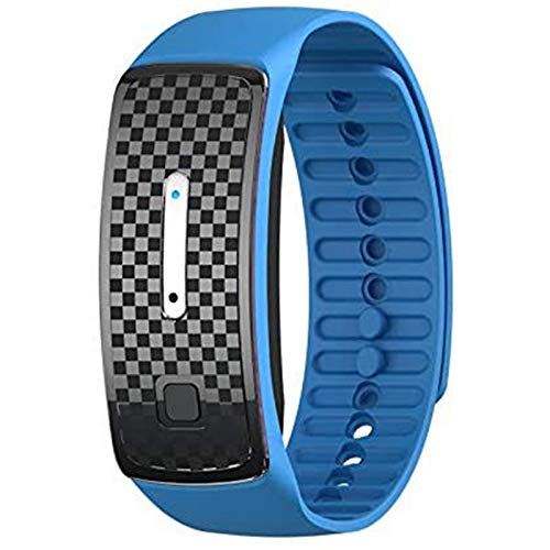 Gaoominy Blue Repellent Bracelet, Electronic Repellent Wristband Suitable for Babies and Adults