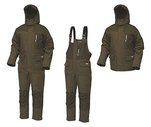 Dam Xtherm Winter Suit, 2-teiliger Deluxe-Thermoanzug und Kälteschutz in den Größen M-3XL, wasserdicht (8000mm Wassersäule), 100% Polyester (Größe M)