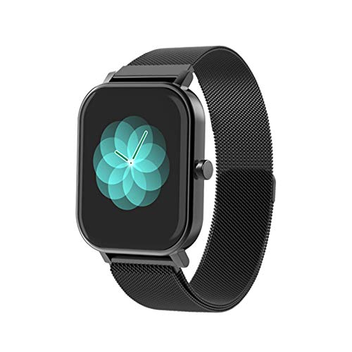 LJMG Reloj Inteligente, S10, Deportes De Hombres Y Mujeres, Reloj, Ritmo Cardíaco, Monitor De Presión Arterial, IP67, Smartwatch Impermeable para Teléfonos iOS De Android,D