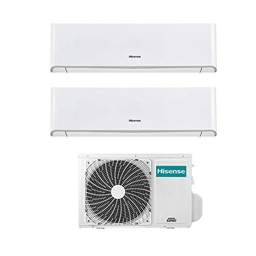 Hisense Condizionatore Climatizzatore Inverter Energy Dual Split 9000+12000 9+12 Btu 2AMW50U4RXA R-32 A++