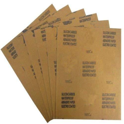 Chiloskit Grain 120pour 1000Grit Wet Dry papier abrasif papier abrasif kit Assortiment, 23x 28cm, Lot de 10