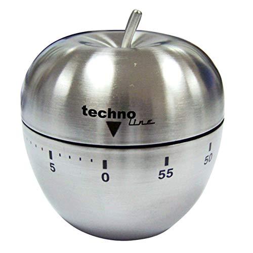 Technoline KZW III Analog Kurzzeitwecker Apfel, Metall