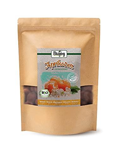Biojoy Abricots séchées BIO, non-soufrés et non-sucrés (1 kg)