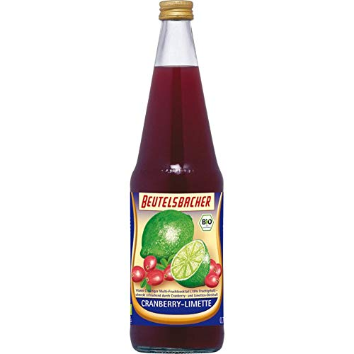 Beutelsbacher Bio Cranberry-Limette (6 x 700 ml)