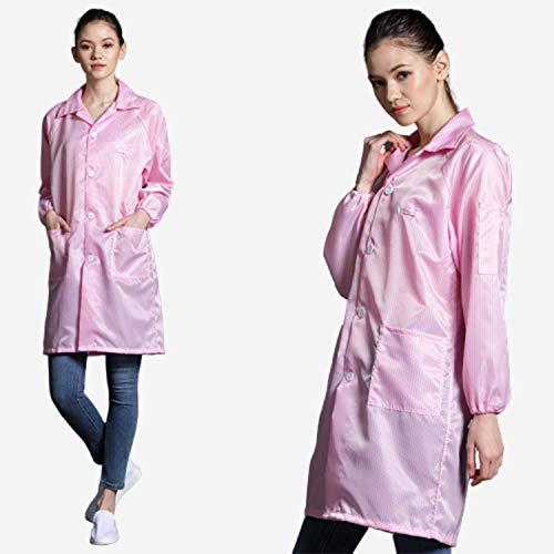 FR&RF Antistatische Industrie-Kleidung, Staubfrei, Anti-statische Stulpen, ohne Kappe, 1 Stück M Pink