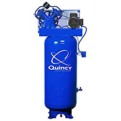 Quincy 60 gallon air compressor reviews: A Splash Lubricated 1