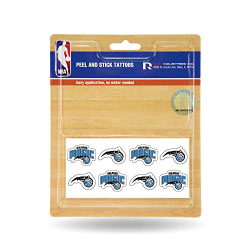 NBA Orlando Magic Face Tattoos, 8-Piece Set