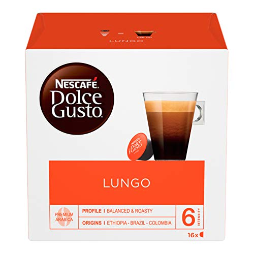 Nescafé Dolce Gusto Caffè Lungo, 16 Capsules