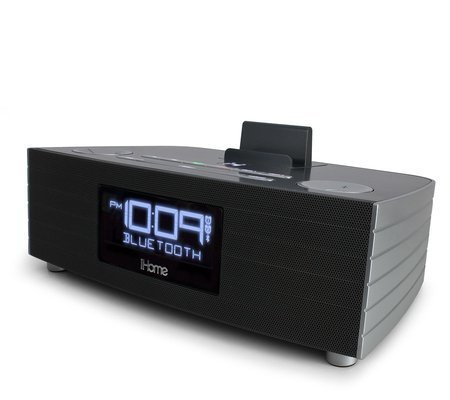 iHome NFC Bluetooth Stereo FM Clock Radio and Speakerphone with USB Charging