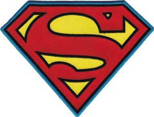 C&D Visionary DC Comics Super Hero Patch-Superman Insignia 8'X 8' X 8'