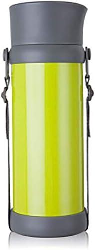 MYD888 Bouteille Isothermique Isolé Coupe en Acier Inoxydable Grande Capacité en Plein Air Voiture Bouilloire Touristique Bouteille Chaud Bouilloire