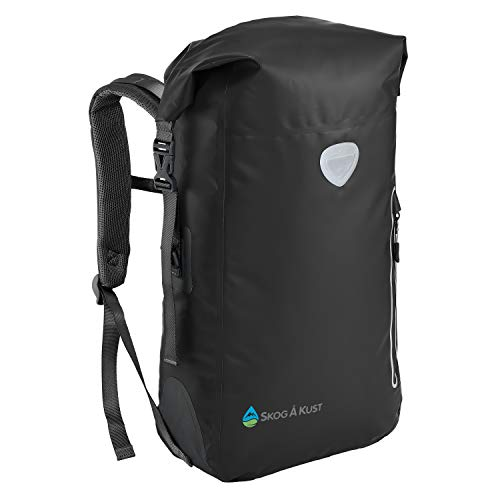Skog Å Kust BackSåk Waterproof Floating Backpack with Exterior Zippered Pocket | for Kayaking,...