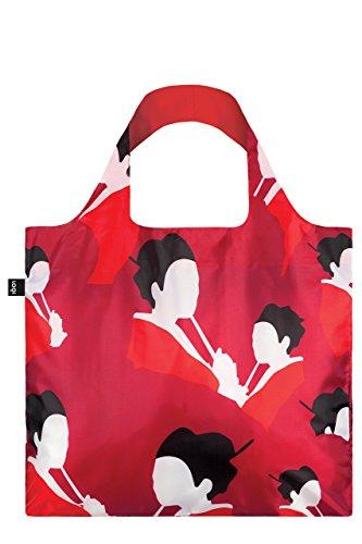 LOQI Travel Einkaufstasche / Reisetasche Reise-Henkeltasche, 4 cm, Geisha