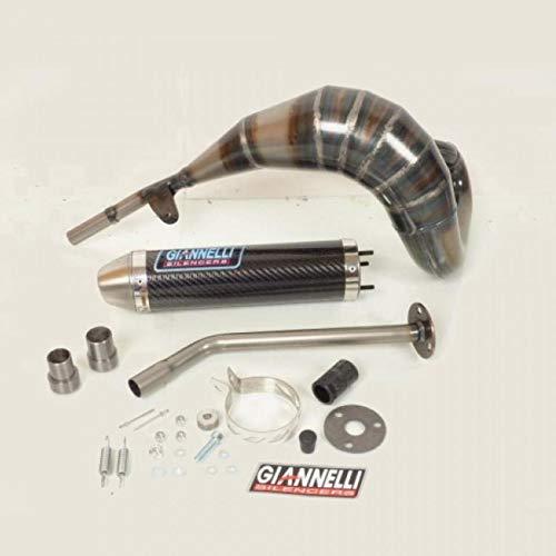 Giannelli - Linea di scappamento con marmitta silenziosa al carbonio Giannelli per moto Beta 50Rr Enduro 2012