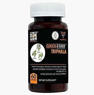 CLINICAL DAILY Pure Triphala Superfood Antioxidant Capsules. 60 Vegetarian Pills. Amla Haritaki Bibhitaki Ayurveda Supplem...