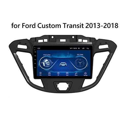 LFEWOZ NAV GPS Navigation 9 Zoll Navi with WiFi Car Stereo Radio Player Bluetooth Android USB Double Din Navigationssystem -Für Ford Custom/Transit 2013-2018