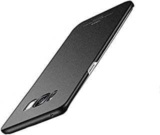 Back case for Samsung Galaxy S8 PLUS Hard matte Tpu cover slim anti fall shell protective sleeve Black