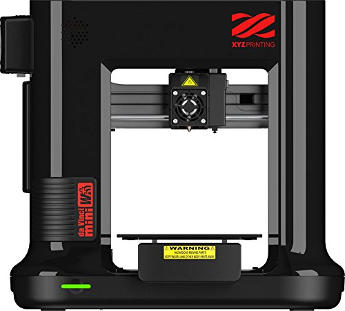 【Amazon.co.jp 限定カラー】XYZプリンティング 3Dプリンター [ダヴィンチmini w+ブラック] Wifi 接続OK 組み立て済みの完成品 オートキャリブレーション機能付き 8kg以下の小型ボディ 造形サイズ150×150×150mm 3FM3WXJP01F