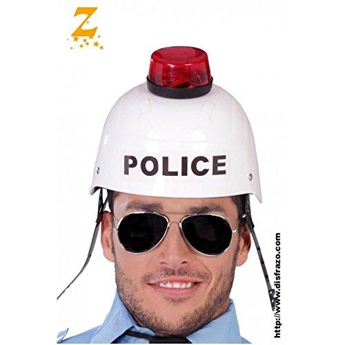 CASQUE POLICE SONORE ET LUMINEUX