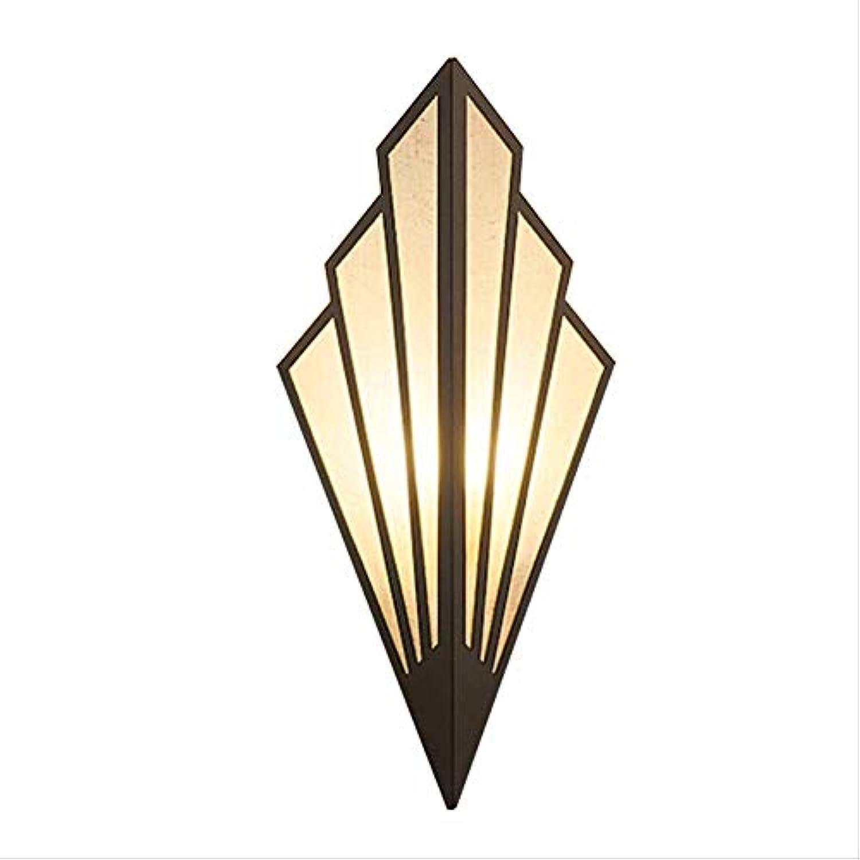 AMTSKR Led-wandlampe Korridor Treppe Leuchtet Licht Im Europischen Stil Schlafzimmer Hotel Nachttischlampe Ventilator-lampen Golden