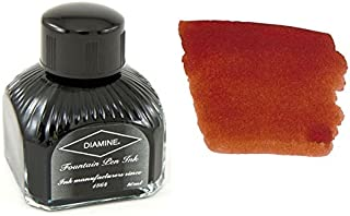 Diamine Fountain Pen Ink, 80 ml Bottle, Ancient Copper