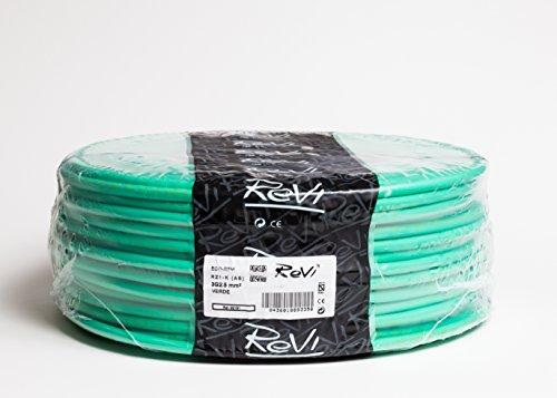 Cable RZ1-K 0,6/1kV (AS) Libre de Halógenos 3x2,5mm 50m (Verde)