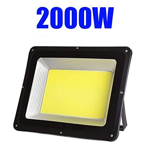 Strahler Mit, Draussen High Power Flood Light Garten Quadrat IP66 SicherheitslichtSuper Hell Baustelle LED Fluter (Size : 2000W)