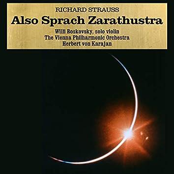 Richard Strauss: Also Sprach Zarathustra, Op. 30