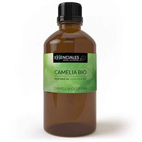 Essenciales - Huile végétale de Camélia (Canellia oleifera) BIO, 500 ml | 100% Pure et Naturel - Certifiée Biologique et Écologique