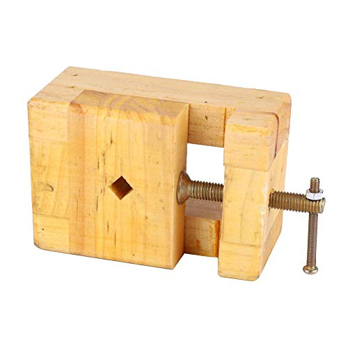 Tornillo de banco de abrazadera estable, tornillo de banco de tallado de sello resistente al desgaste(Small engraved seal bed)