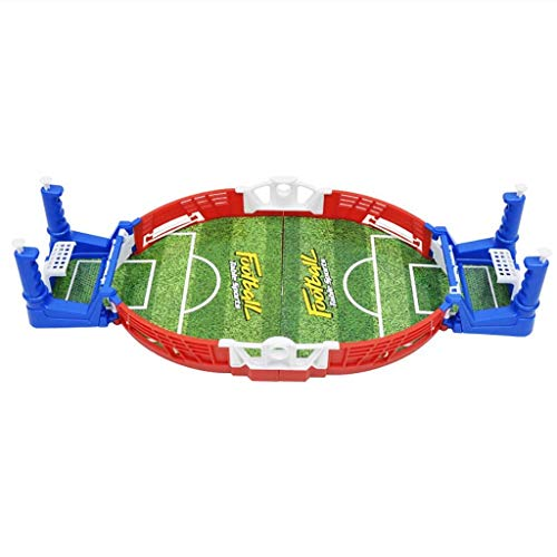 Great Deal! CAIfnv Mini Table Football Sports Game Desktop Soccer Game Children Interactive Board To...