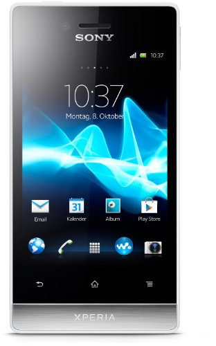 bester der welt Sony Xperia Miro Smartphone (8,9 cm (3,5 Zoll) Touchscreen, 5-Megapixel-Kamera, Android 4.0)… 2021