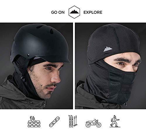 Balaclava - Windproof Ski Mask - Cold Weather Face Mask for Skiing, Snowboarding, Motorcycling & Winter Sports. Ultimate Protection from the Elements