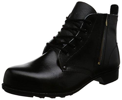 [ドンケル] 安全靴 ハイカット チャック付き JIS T8101革製S種合格(V式) 603T メンズ ブラック 27.5