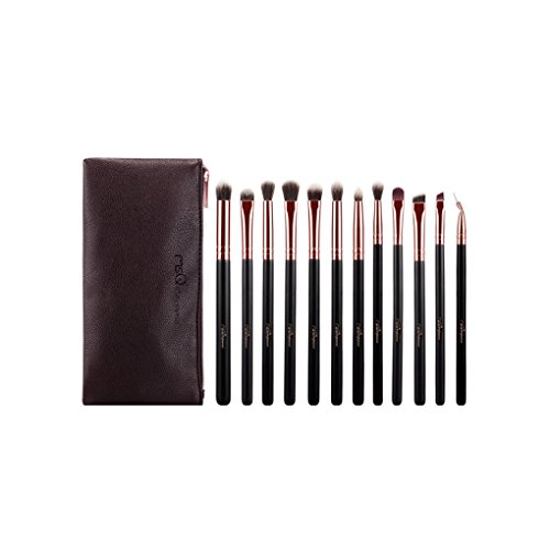 Babysbreath 12 PCS MSQ Professionnel Beauté Brosse Synthétique Brosse Maquillage Set Ombre à Paupières Maquillage Brush Set