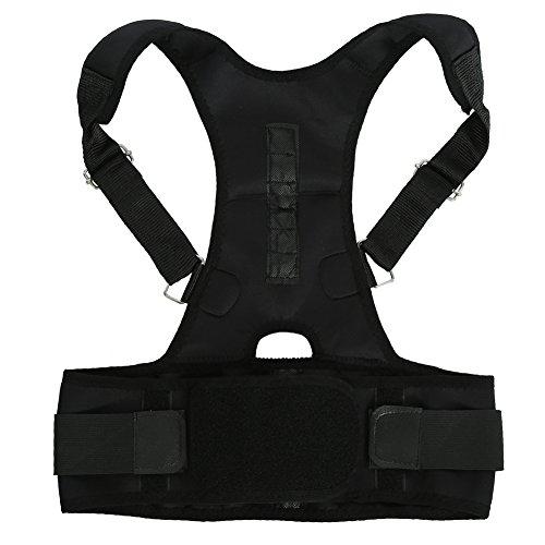 Corrector de Postura Ajustable con imán - Chaleco de Corrección de Espalda - La Mejor Solución para Niño - Ultrafino/Transpirable(S)