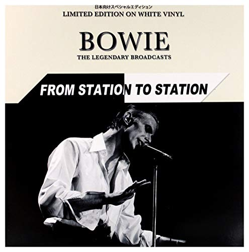 "David Bowie€"" from Station to Station. Limited Edition on White Vinyl [Vinyl LP]"