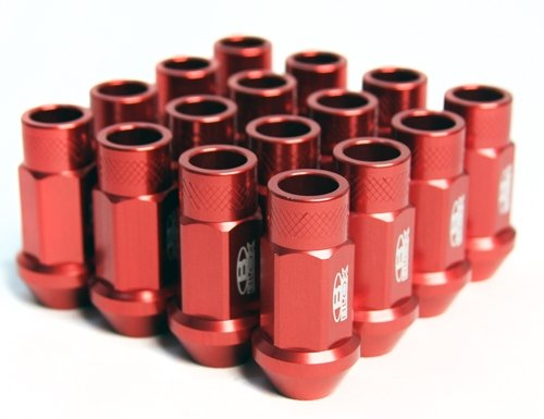 Street Series Forged Lug Nuts, 12 x 1.5mm - Set of 16