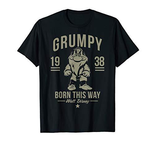Disney Snow White Grumpy Born This Way 1938 T-Shirt
