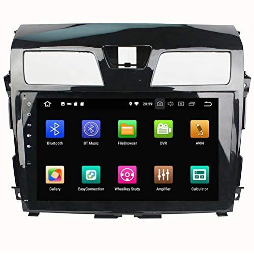 ROADYAKO 64 Go Android 8.0 Tableau De Voiture pour Nissan Tenna 2013 2014 2015 2015 Stéréo Radio avec GPS Navigation 3G Lien Miroir RDS FM AM Bluetooth AUX Multimédia Audio Vidéo