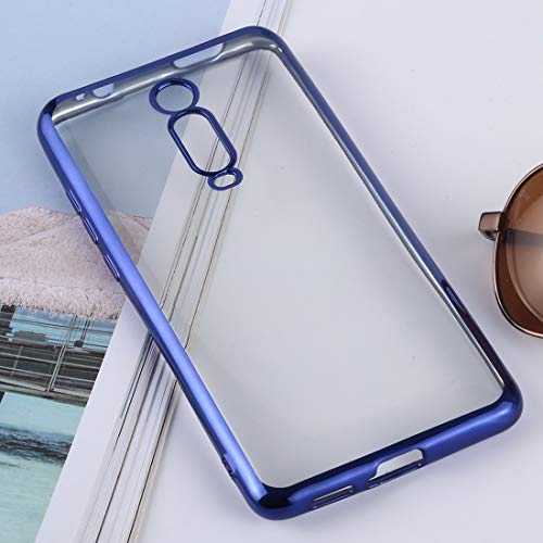 Dmtrab Phone Case for XIAOMI MI 9T / REDMI K20 / K20 Pro Caso, Funda Protectora de protección Protectora Ultra-Delgada TPU TPU (Plata) Caja del teléfono Funcional (Color : Dark Blue)
