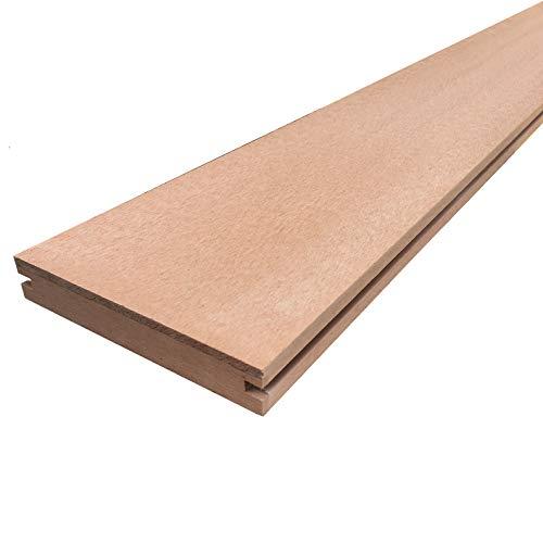 igarden アイガーデン人工木材 ウッドデッキ床板材 180cm1本 ナチュラル アイウッド人工木製