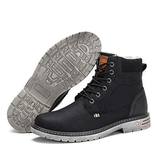 baratos y buenos Botas de invierno impermeables para hombre Botas de invierno para mujer Zapatos de invierno clásicos con forro … calidad