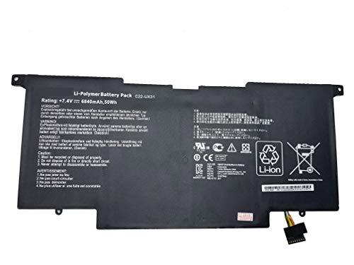 7.4V 6840mAh 50Wh C22 Akku de UX31 pour ordinateur portable ASUS Zenbook UX31 UX31A UX31E