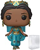 Disney: Aladdin Live Action - Princess Jasmine Funko Pop! Vinyl Figure (Includes Compatible Pop Box ...