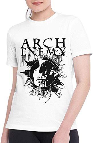 T-Shirts für Frauen Bestimmte Arch Enemy T-Shirt Weiß