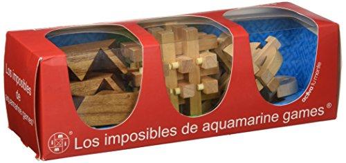 Aquamarine Games - Los imposibles, Pack de Tres Juegos (200331)