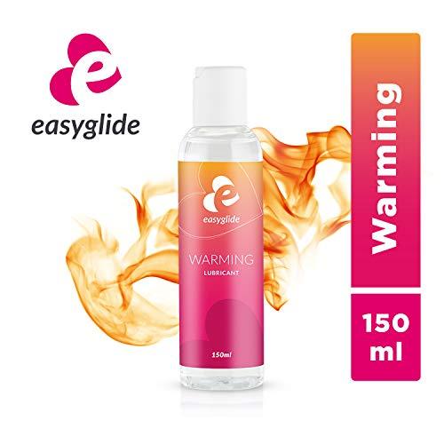 EasyGlide Lubricantes de Calefacción (150 ml) Lubricante suave con efecto de calentamiento; Lubricante a base de agua; Botella dosificadora práctica y de larga duración.