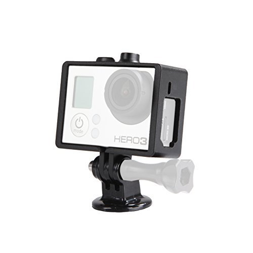 Movo Custodia indeformabile Protettiva Photo GC34 con Attacco per treppiede per videocamere GoPro HERO3, HERO3+ e HERO4