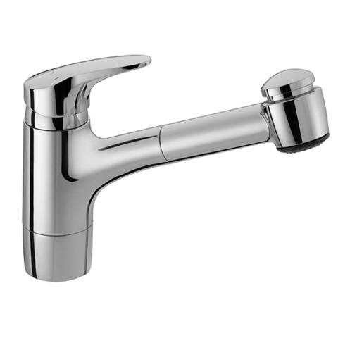 Big Sale Best Cheap Deals Hansa 0138 2273 0017 Single lever kitchen mixer with pull-out spray, Chrome